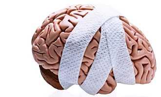 Что делать после удара головой