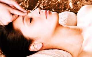 Массаж головы при мигреневых головных болях