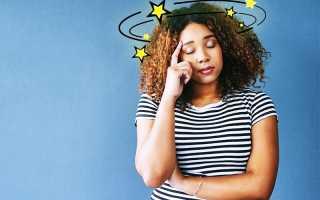 Факторы, вызывающие головокружение у женщин различного возраста